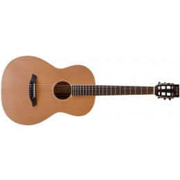 Auden York Nylon String Electro-Acoustic Mahogany Front