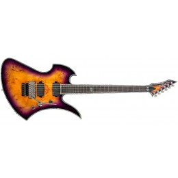 BC Rich Mockingbird Extreme Exotic with Floyd Rose Purple Haze Front