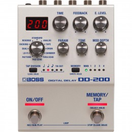 Boss DD-200 Digital Delay Pedal Front