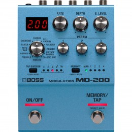 Boss MD-200 Modulation Pedal Front