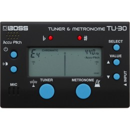 BOSS TU-30 Tuner & Metronome for Guitar
