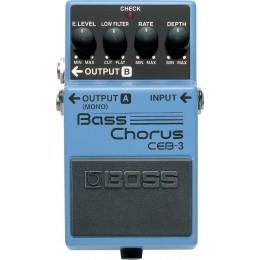 Boss CEB-3 Bass Chorus Pedal Front