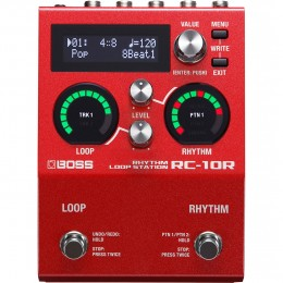 Boss RC-10R Rhythm Loopstation Pedal Front