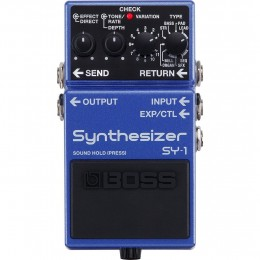 Boss SY-1 Compact Pedal Synthesiser Front