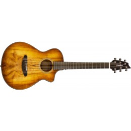 Breedlove Pursuit Exotic Companion CE Myrtlewood Prairie Burst Travel Guitar Front