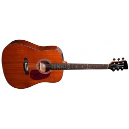 Brunswick BD200 Dreadnought Acoustic Guitar Mahogany Front