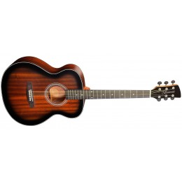 Brunswick BF200 Folk Acoustic Guitar Tobacco Burst Satin Front