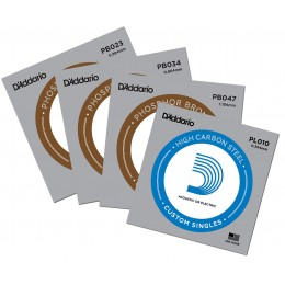 D'Addario Custom Strings for Seagull M4 G Mahogany Merlin