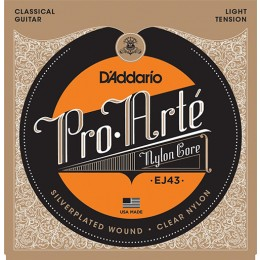 D'Addario EJ43 Pro-Arte Nylon, Light Tension Strings