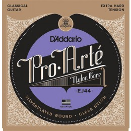 D'Addario EJ44 Pro-Arte Nylon, Extra Hard Tension Strings
