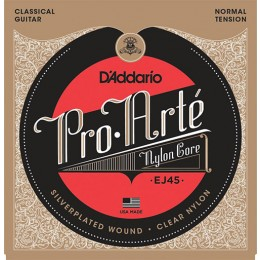 D'Addario EJ45 Pro-Arte Nylon, Normal Tension Strings