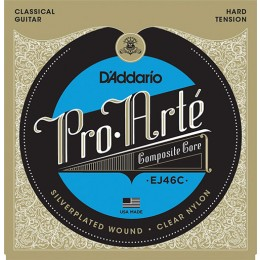 D'Addario EJ46C Pro-Arte Composite, Hard Tension Strings