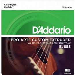 D'Addario EJ65S Pro-Arté Custom Extruded Soprano Ukulele