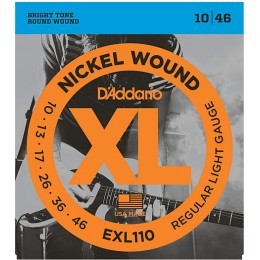D'addario EXL110 Light 10-46 Electric Guitar Strings