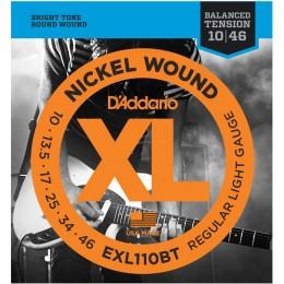 D'addario EXL110BT Electric Guitar Strings Balanced Tension