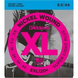D'addario EXL120+ Electric Guitar Strings Super Light Plus