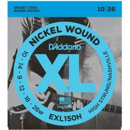 D'Addario EXL150H Nickel Nashville Tuning Strings 10-26