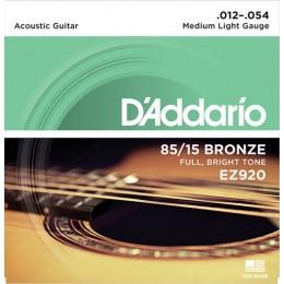 D'Addario EZ920 85/15 Bronze Acoustic Strings