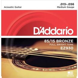 D'Addario EZ930 85/15 Great American Bronze Wound Strings Medium 13-56