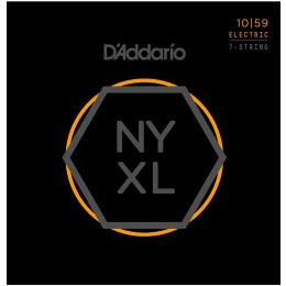 D'Addario NYXL1059 set of 7 Guitar Strings