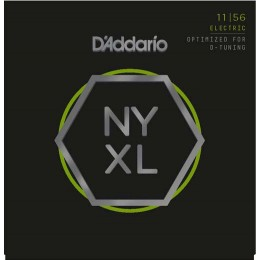 D'Addario NYXL1156 Medium Top Extra-Heavy Bottom Guitar Strings