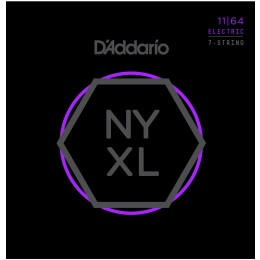 D'Addario NYXL1164 set of 7 Guitar Strings