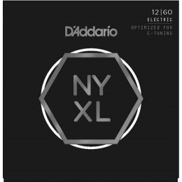 D'Addario NYXL1260 Nickel Wound Extra Heavy Guitar Strings