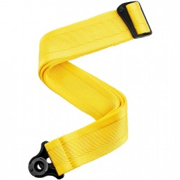 DAddario Auto Lock Guitar Strap Mellow Yellow Main