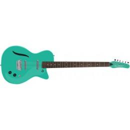 Danelectro Vintage '56 Baritone Guitar Dark Aqua Front