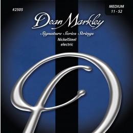 Dean Markley 2505 Medium NickelSteel Electric Guitar Strings 11-52