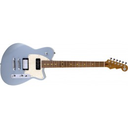 Reverend Double Agent OG Metallic Silver Freeze Front
