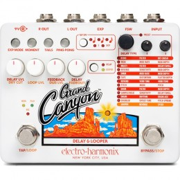 EHX Grand Canyon Delay and Looper Pedal
