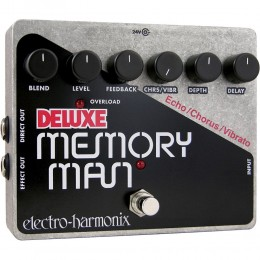 Electro Harmonix Deluxe Memory Man Delay Pedal With Chorus And Vibrato