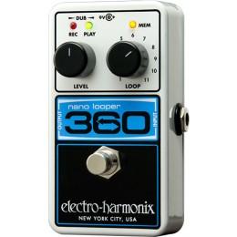 Electro Harmonix Nano Looper 360 loop pedal