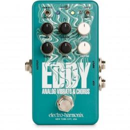 Electro Harmonix Eddy Vibrato/Chorus Pedal Front