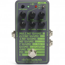 Electro Harmonix Mainframe Bit Crusher Front
