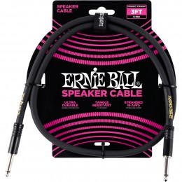 Ernie Ball 3 Foot Speaker Cable Front