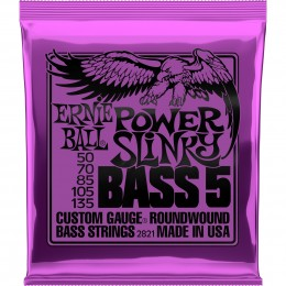 Ernie-Ball-5-String-Bass-Power-Slinky-Nickel-Roundwound-50-135