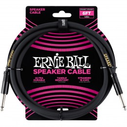 Ernie Ball 6 Foot Speaker Cable Front