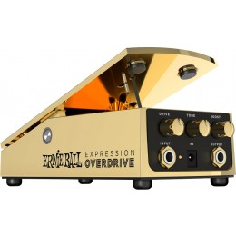 Ernie Ball Expression Overdrive Pedal Left Angle