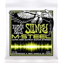 Ernie Ball M-Steel Regular Slinky Electric Guitar Strings