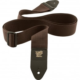 Ernie-Ball-Polypro-Guitar-Strap-Brown