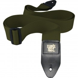 Ernie-Ball-Polypro-Guitar-Strap-Olive