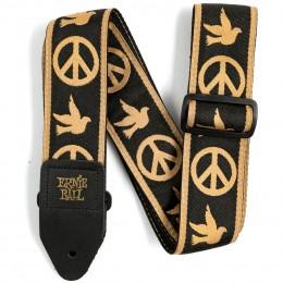 Ernie Ball Jacquard Guitar Strap Peace Love Dove