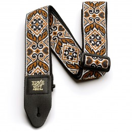 Ernie Ball Jacquard Guitar Strap Tribal Brown