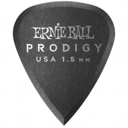 Ernie Ball Standard Prodigy Picks Black 1.5mm Bag of 6 Main
