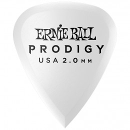 Ernie Ball Standard Prodigy Picks White 2mm Bag of 6 Main