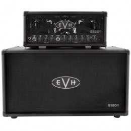 EVH 5150III 50S 6L6 Head With 212ST Cab Half Stack Pack Front