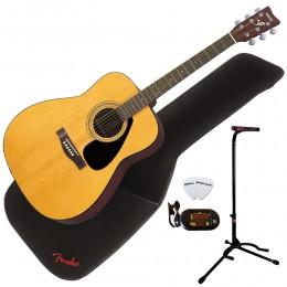 Yamaha F310 Premium Acoustic Guitar Package Natural