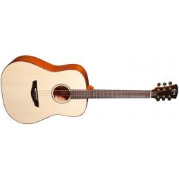 Faith FS Saturn Natural Dreadnought Acoustic Guitar Front